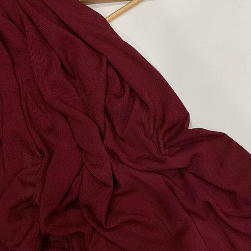 Classic Modal Hijab Burgundy