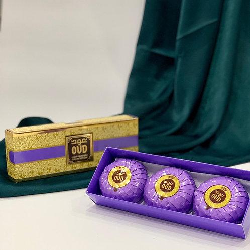 Hareemi Oud Soap Bars 125g (3 Pack)