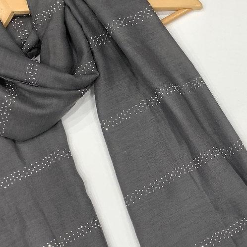Glam Hijab Grey