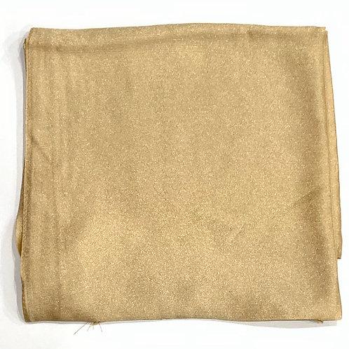 Formal square scarf light gold