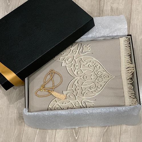 Luxury Janamaz Beige