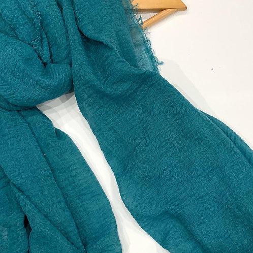 Crinkle Hijab Turquoise