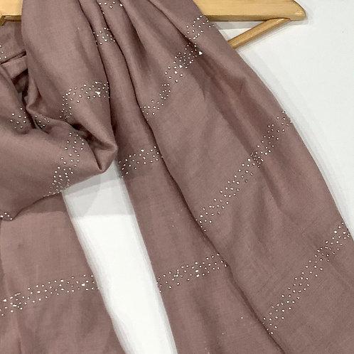 Glam Hijab Dusty Pink