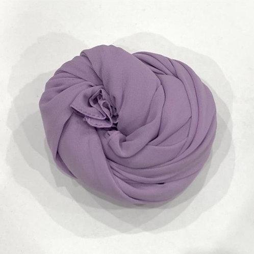 Chiffon Hijab Purple Dragon