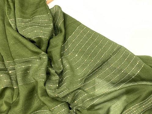 Shimmer Hijab Lime Green