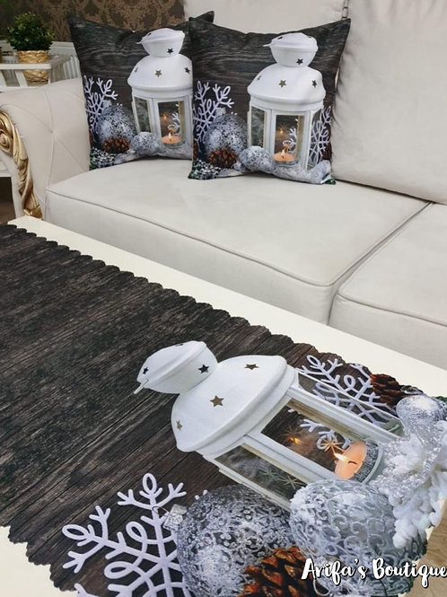 Cushion Cover and Runner Set