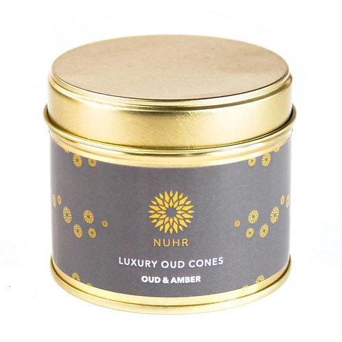 Luxury Oud & Amber Incense Cones