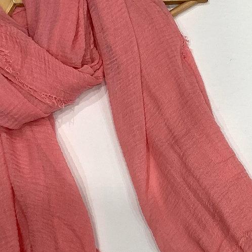 Crinkle Hijab Pretty in Pink