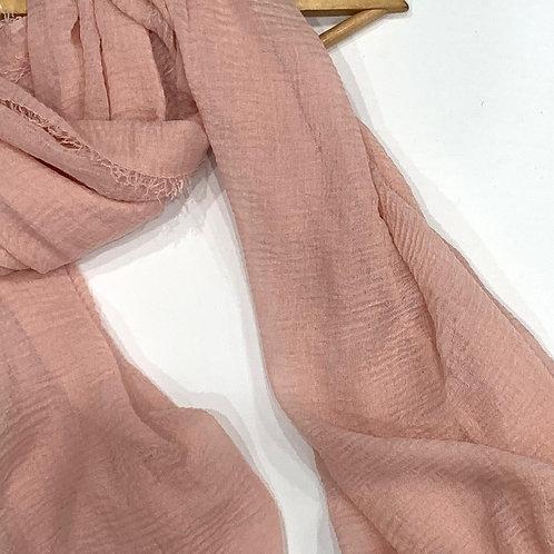 Crinkle Hijab Blush