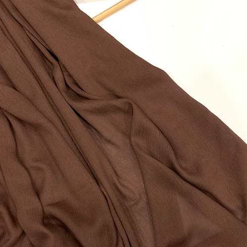 Classic Modal Hijab Brown