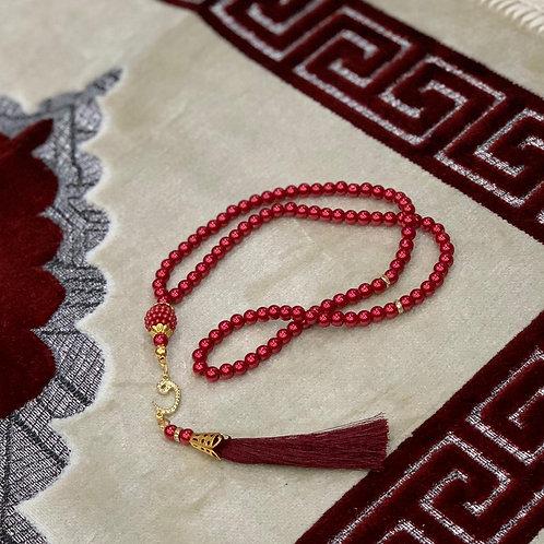 Maroon Tasbih / Rosary