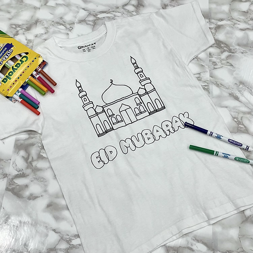 Colour-In Eid T-Shirt