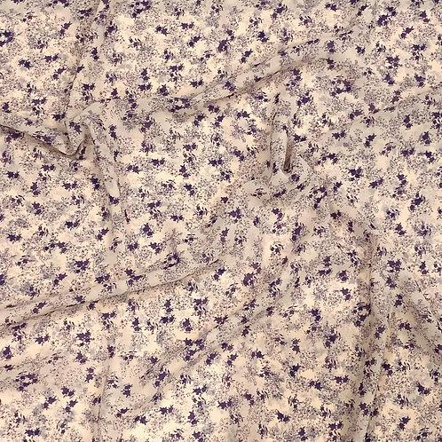 Purple Raindrops Chiffon Hijab