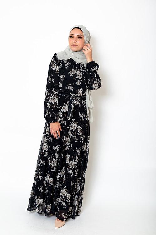 Rabia Dress Black