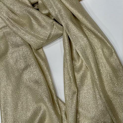 Light Gold Shimmer Hijab