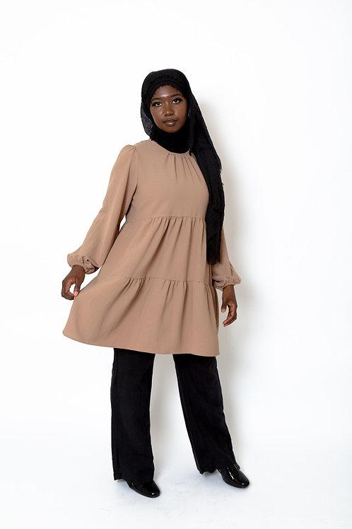 Amira Tunic Tan