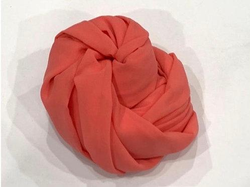 Chiffon Hijab Coral
