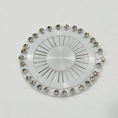 White Diamond Pin Wheel