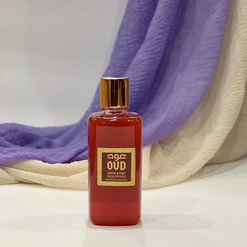 Saffron Oud Shower Gel 300ml