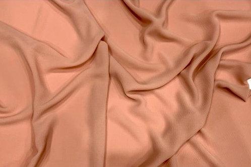 Chiffon Textured Hijab Light Coral