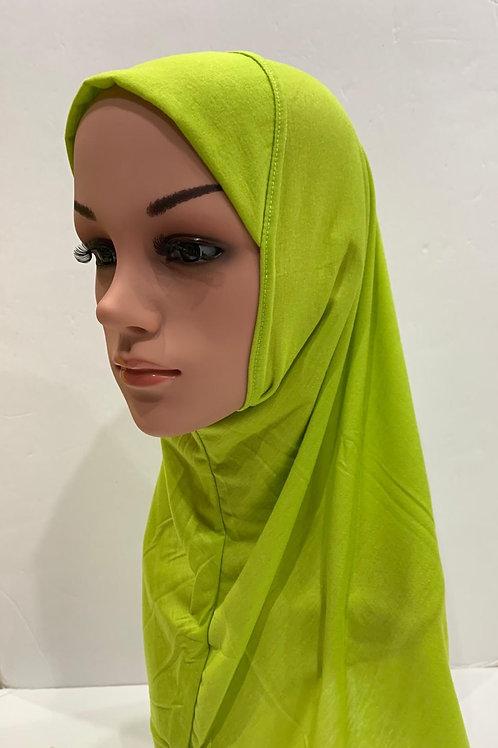 Kids Hijab Medium Green