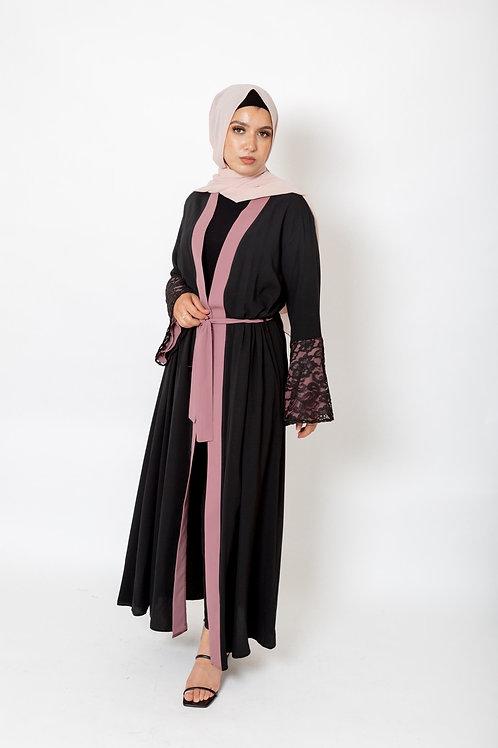 Amal Abaya Mauve