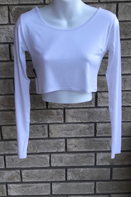 Crop Undershirt White