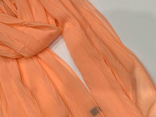 Crinkle Chiffon Hijab Orange