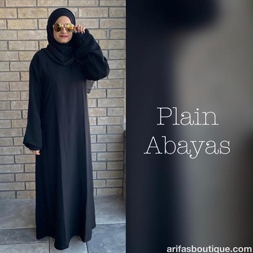 Plain Abaya