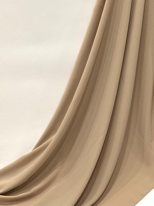 Luxury Chiffon Hijab Tan