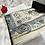 Thumbnail: Grey Floral Arch Velvet Janamaz
