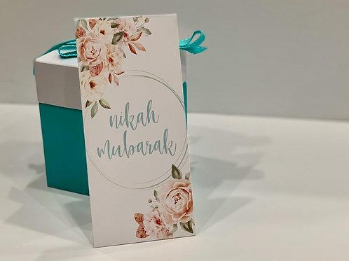 """""""Nikah Mabrook"""" Envelope"""