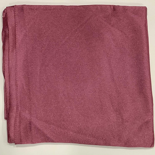 Formal square scarf pink