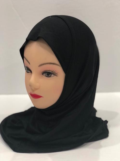 Kids Hijab Small Black