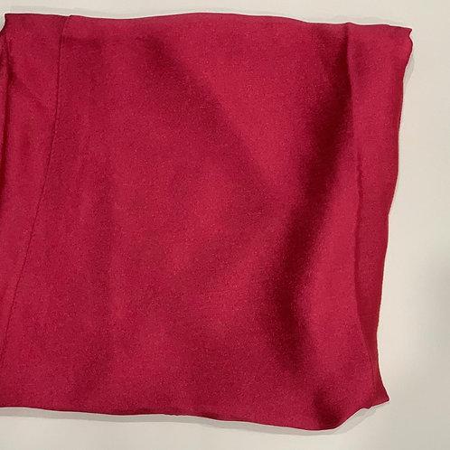 Formal square scarf rose pink