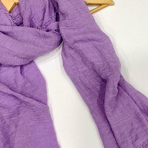 Crinkle Hijab Lavender