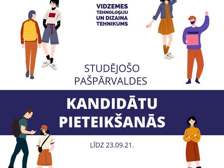 VTDT studējošo pašpārvaldes vēlēšanas 30.09.!