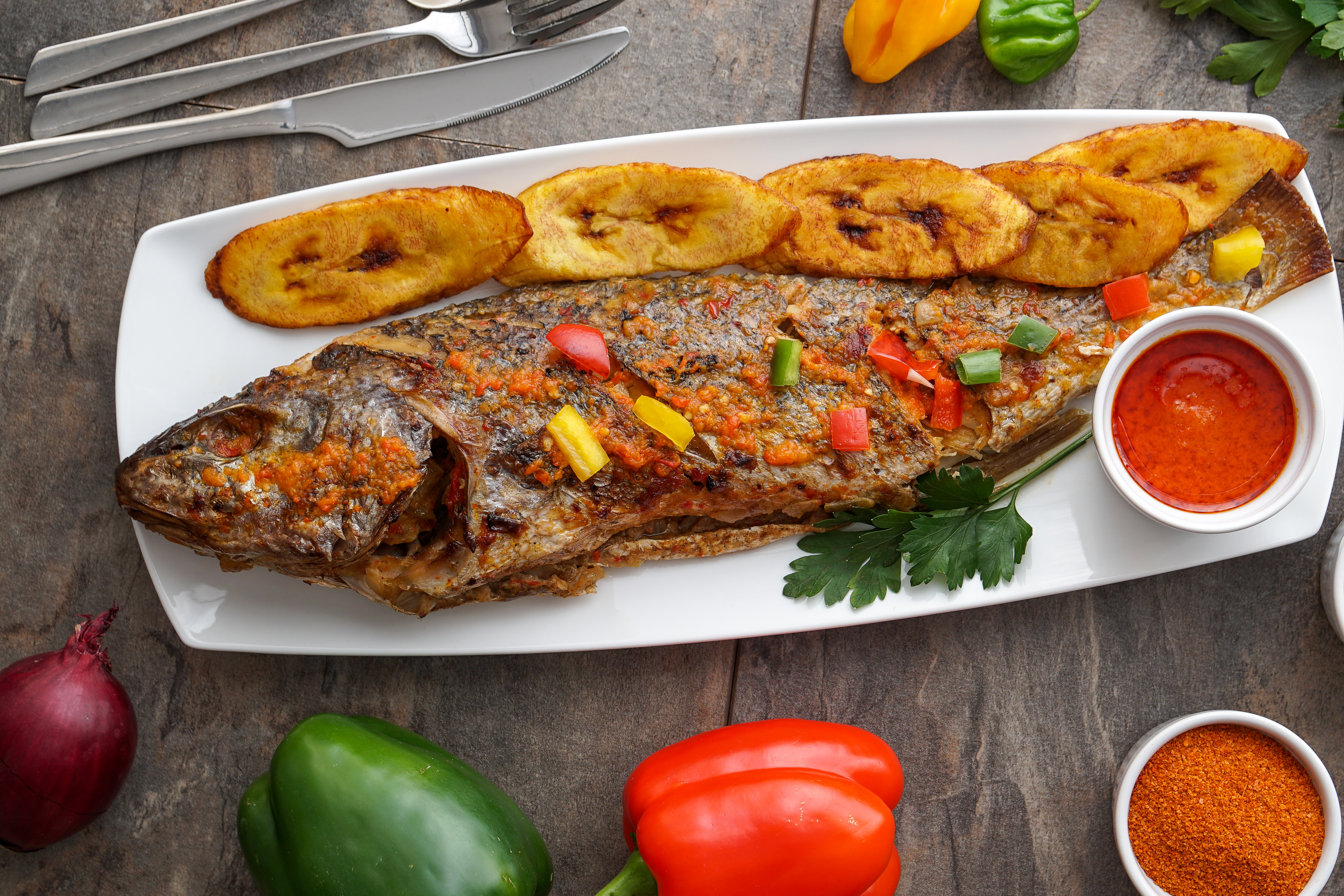 nigerian grilled fish
