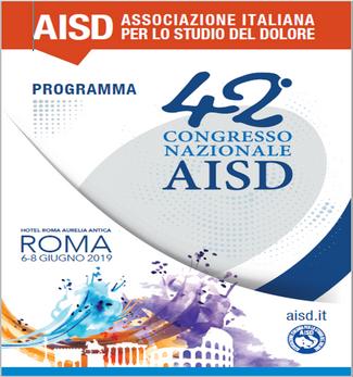 ROMA 6-8 GIUGNO 2019 42° CONGRESSO NAZIONALE AISD
