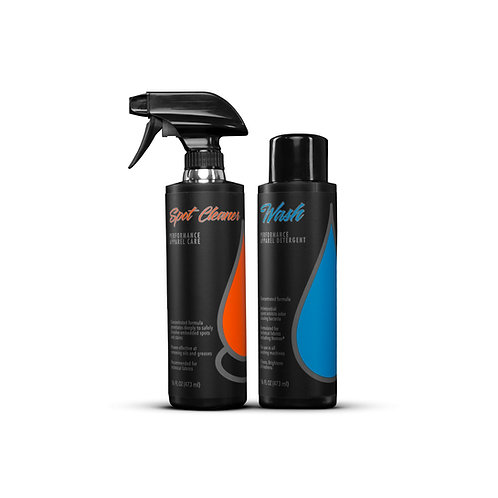 Wash Kit (16oz. Wash/16oz. Spot)