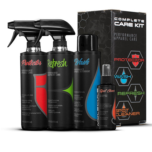 Complete Care Kit (Wash, Refresh, Protector, Spot)