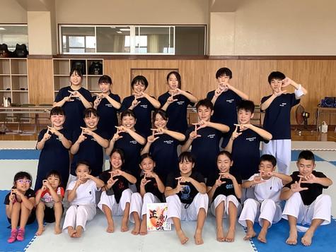 武庫荘総合高校へ出稽古!
