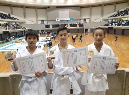 令和元年度第52回 兵庫県空手道選手権大会 2019/11/18