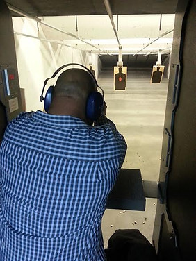 His First Time Shooting