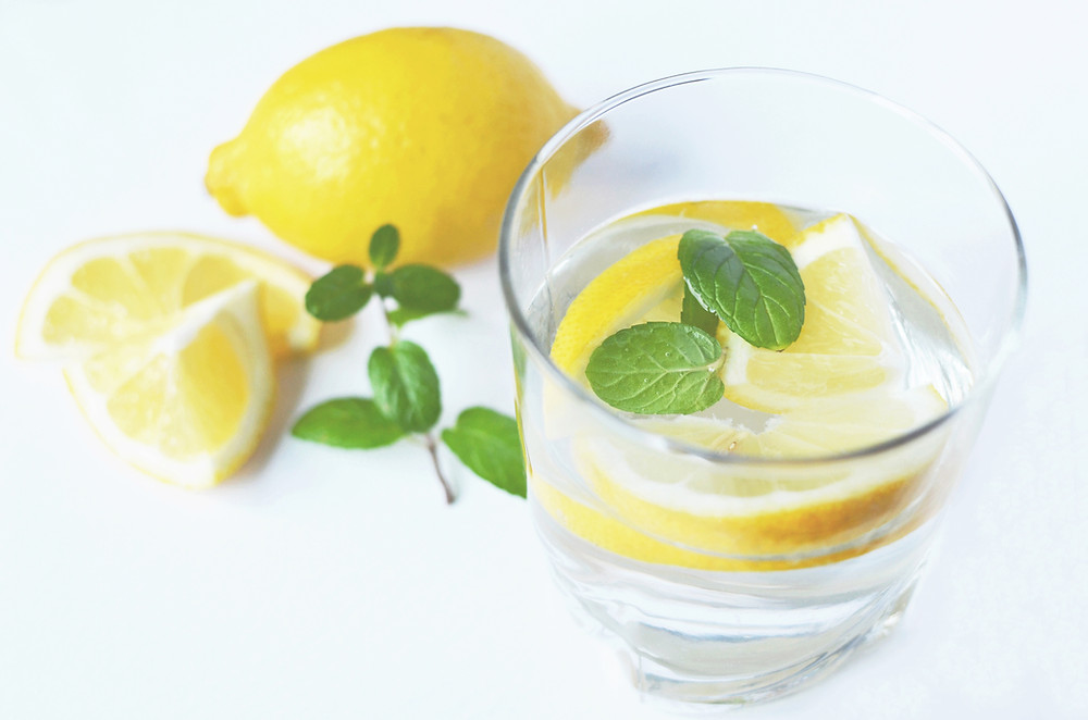 start your morning with a glass of lemon water or apple cider vinegar