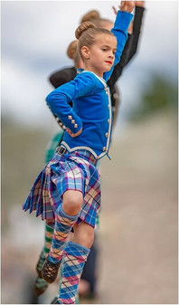 Solo Dancing Competition at the 2019 Ballater Highland Games