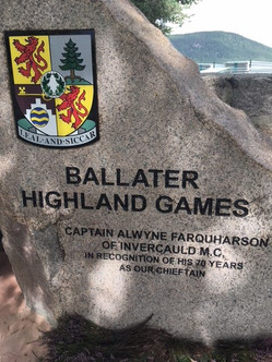 Clan Farquharson and the Ballater Games