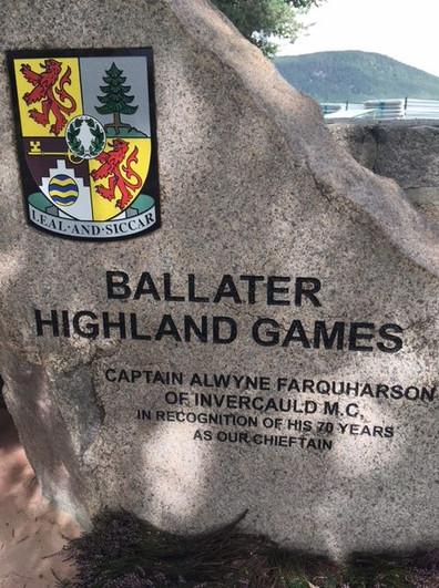 Chief's Stone in Ballater
