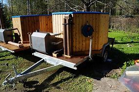 Kuopion Paljuvuokraus, Savo, Kuopio, Siilinjärvi, Leppävirta, paljukärry, kylpytynnyri, palju,