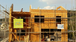 지붕 벽 설치 완료